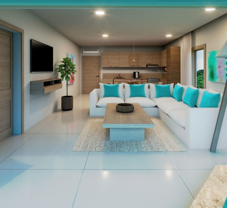 One Bedroom Penthouse Suite with Plunge Pool